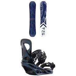 Yes. Emoticon Snowboard - Women's + Burton Lexa Snowboard Bindings - Women's