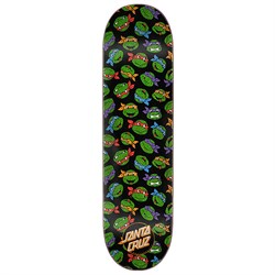 Santa Cruz TMNT Allover Turtle 8.25 Skateboard Deck
