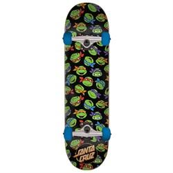 Santa Cruz TMNT Allover Turtle 8.0 Skateboard Complete