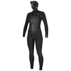 O'Neill 5.5/4+ Psycho Tech Chest Zip Hooded Wetsuit - Women's