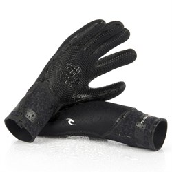 Rip Curl 5/3 Flashbomb 5-Finger Wetsuit Gloves