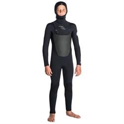Rip Curl 5/4 Dawn Patrol Chest Zip Hooded Wetsuit - Boys'
