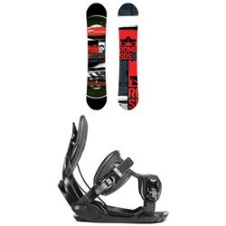 Rome Mechanic Snowboard 2018 ​+ Flow Alpha Snowboard Bindings