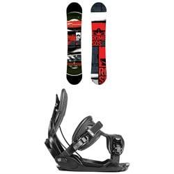 Rome Mechanic Snowboard 2018 + Flow Alpha Snowboard Bindings
