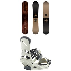 Arbor Element Snowboard ​+ Burton Mission Snowboard Bindings