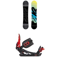 K2 Vandal Snowboard - Boys'  ​+ K2 Vandal Snowboard Bindings - Big Boys'