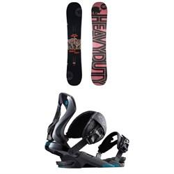 Rossignol Jibsaw Heavy Duty Snowboard 2018 + Rossignol Cobra Snowboard Bindings