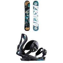 Rossignol Krypto Snowboard 2018 + Rossignol Cobra Snowboard Bindings