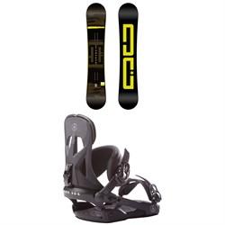 DC Focus Snowboard 2019 + Rome Arsenal Snowboard Bindings 2018