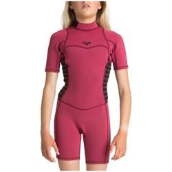 Roxy 2/2 Syncro Back Zip Short Sleeve Springsuit - Girls'