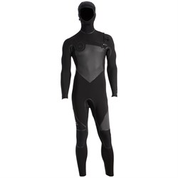 Quiksilver 4/3 Syncro+ Chest Zip Hooded Wetsuit