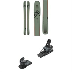 Salomon QST 106 Skis ​+ Warden MNC 13 Ski Bindings 2020