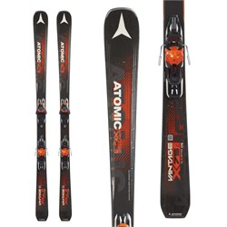 Atomic Vantage X 75 C Skis ​+ Lithium 10 Bindings  - Used