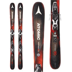 Atomic Vantage 95 C Skis ​+ Salomon Mercury 11 Bindings  - Used