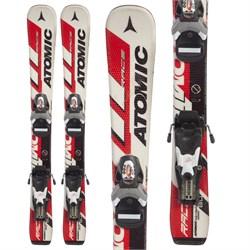 Atomic Race 8 Jr Skis + Look Team 4 Bindings - Little Boys'  - Used