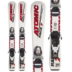 Atomic Race 7 Jr Skis ​+ Look Team 4 Bindings - Little Boys'  - Used