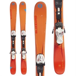 Blizzard Rustler Jr Skis ​+ IQ 7 Bindings - Boys'  - Used