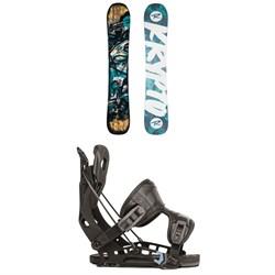 Rossignol Krypto Snowboard + Flow NX2 Fusion Snowboard Bindings