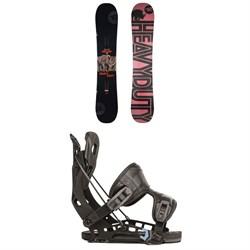 Rossignol Jibsaw Heavy Duty Snowboard + Flow NX2 Fusion Snowboard Bindings