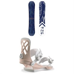 Yes. Emoticon Snowboard - Women's ​+ Union Milan Snowboard Bindings - Women's