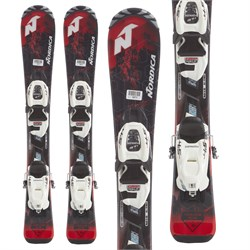 Nordica Navigator Team Skis ​+ Jr 4.5 FDT Bindings - Boys'