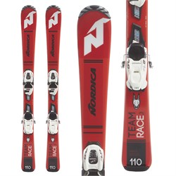 Nordica Team J Race Skis ​+ Jr. 7.0 Bindings - Boys'