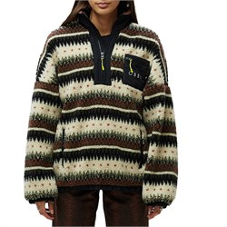 Obey Clothing Moore Fleece Anorak Jacket - Women's