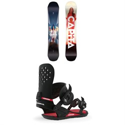 CAPiTA Defenders of Awesome Snowboard + Union Strata Snowboard Bindings 2020