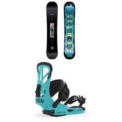 CAPiTA Horrorscope Snowboard + Union Flite Pro Snowboard Bindings 2020