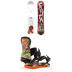 CAPiTA Scott Stevens Pro Snowboard ​+ Union Contact Pro Scott Stevens Snowboard Bindings 2020