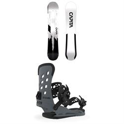 CAPiTA Mercury Snowboard + Union STR Snowboard Bindings 2020