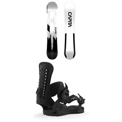 CAPiTA Mercury Snowboard + Union Force Snowboard Bindings 2020