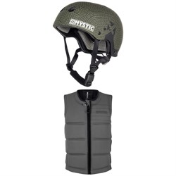 Mystic MK8 X Wake Helmet + Brand Impact Wake Vest 2019