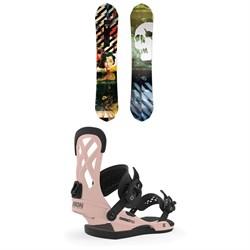 CAPiTA Ultrafear Snowboard + Union Contact Pro Snowboard Bindings 2020