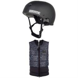Mystic MK8 Wake Helmet + Magician Impact Wake Vest