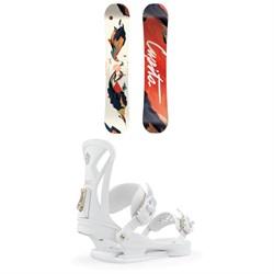 CAPiTA Space Metal Fantasy Snowboard - Women's + Union Juliet Snowboard Bindings - Women's 2020