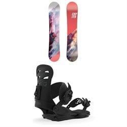 CAPiTA Paradise Snowboard - Women's + Union Rosa Snowboard Bindings - Women's 2020