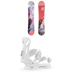 CAPiTA Paradise Snowboard - Women's ​+ Union Juliet Snowboard Bindings - Women's 2020