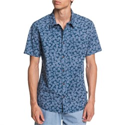 Quiksilver Dots Flower Short-Sleeve Shirt