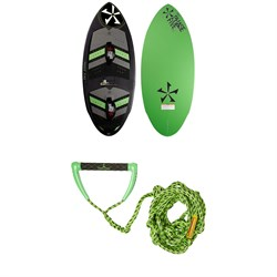 Phase Five Panther LTD w​/ Straps Wakesurf Board 2019 ​+ Proline x evo LGS Surf Handle w​/ 25 ft Air Line