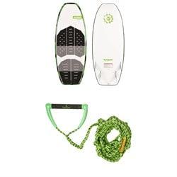 Slingshot Gnarwhal Wakesurf Board 2019 + Free evo Surf Rope