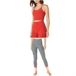 Beyond Yoga Spacedye Slim Racerback Cropped Tank Top + Spacedye Color In High-Waisted Leggings - Women's