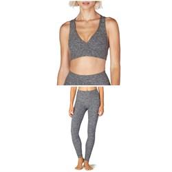 Beyond Yoga Spacedye Lift Your Spirits Bra + Spacedye Take Me Higher Long Leggings - Women's