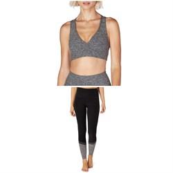 Beyond Yoga Spacedye Lift Your Spirits Bra + Spacedye Color In High-Waisted Leggings - Women's