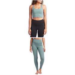 Girlfriend Collective Paloma Bra + Compressive High-Rise Leggings - Women's