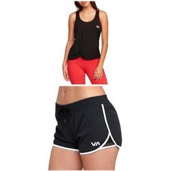 RVCA Warp Tank Top + Featherweight Stretch Shorts - Women's