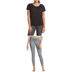 Vuori Lux Performance Tee + Daily Leggings - Women's