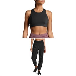 The North Face Beyond The Wall Free Motion Bra + Arise and Align Mid-Rise Pants - Women's