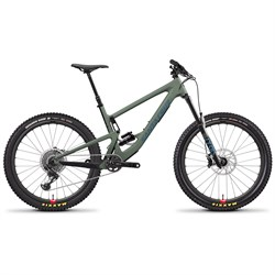 Santa Cruz Bicycles Bronson CC X01 Reserve Complete Mountain Bike 2020