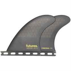Futures Honeycomb QD2 4.00 Medium Quad Fin Pair